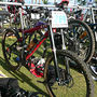Racked in the transition area.