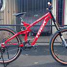 Trek Session 88 custom paint