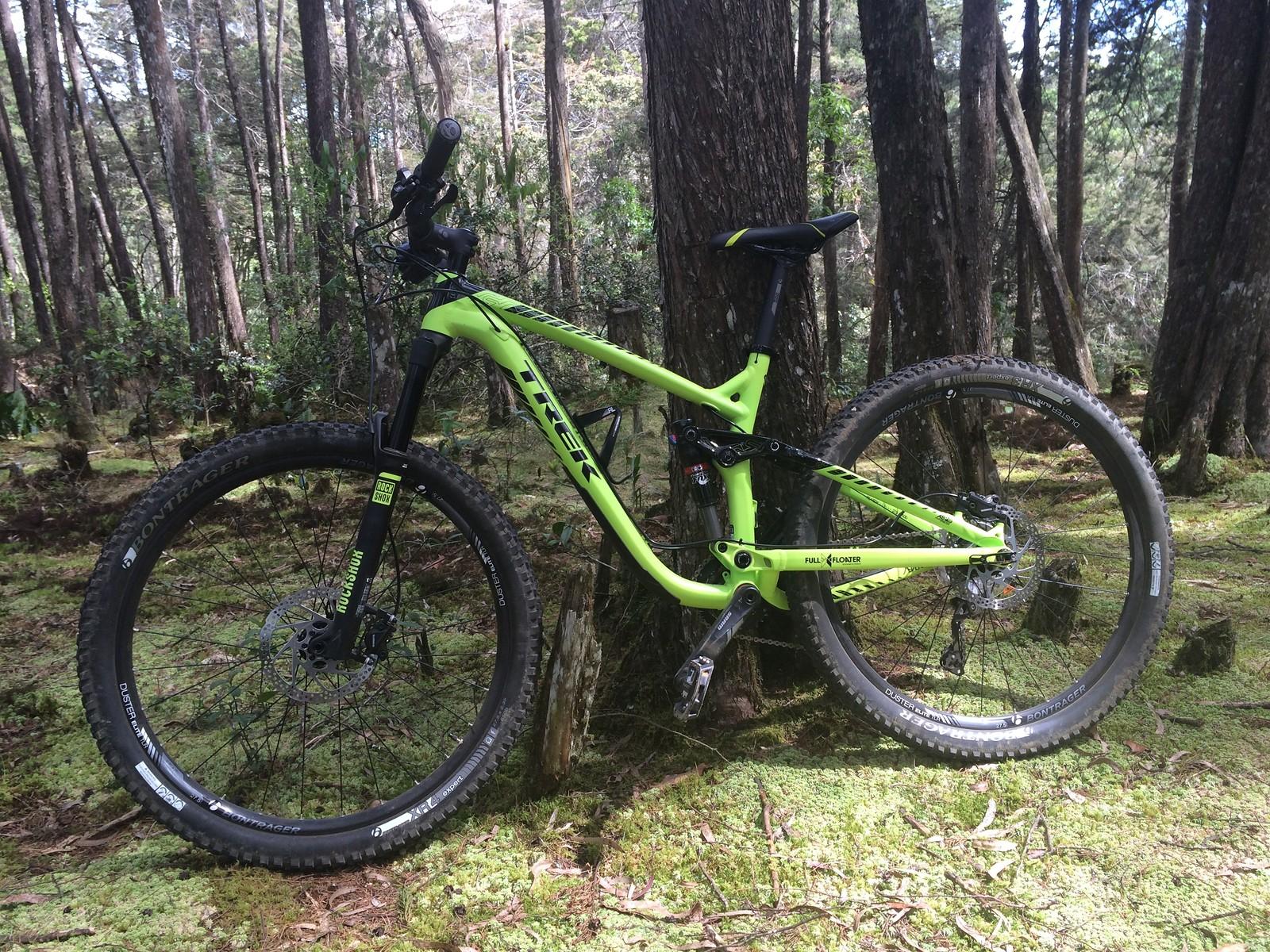 aa4e8931a74 Trek's Evo rear suspension .....in the woods...... ...