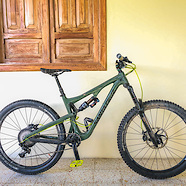 Santa Cruz Bronson - Olive Green and Neon Yellow