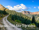 Tetons, Colorado Trail, Mountains, Stars, Bikes, and a Puppy