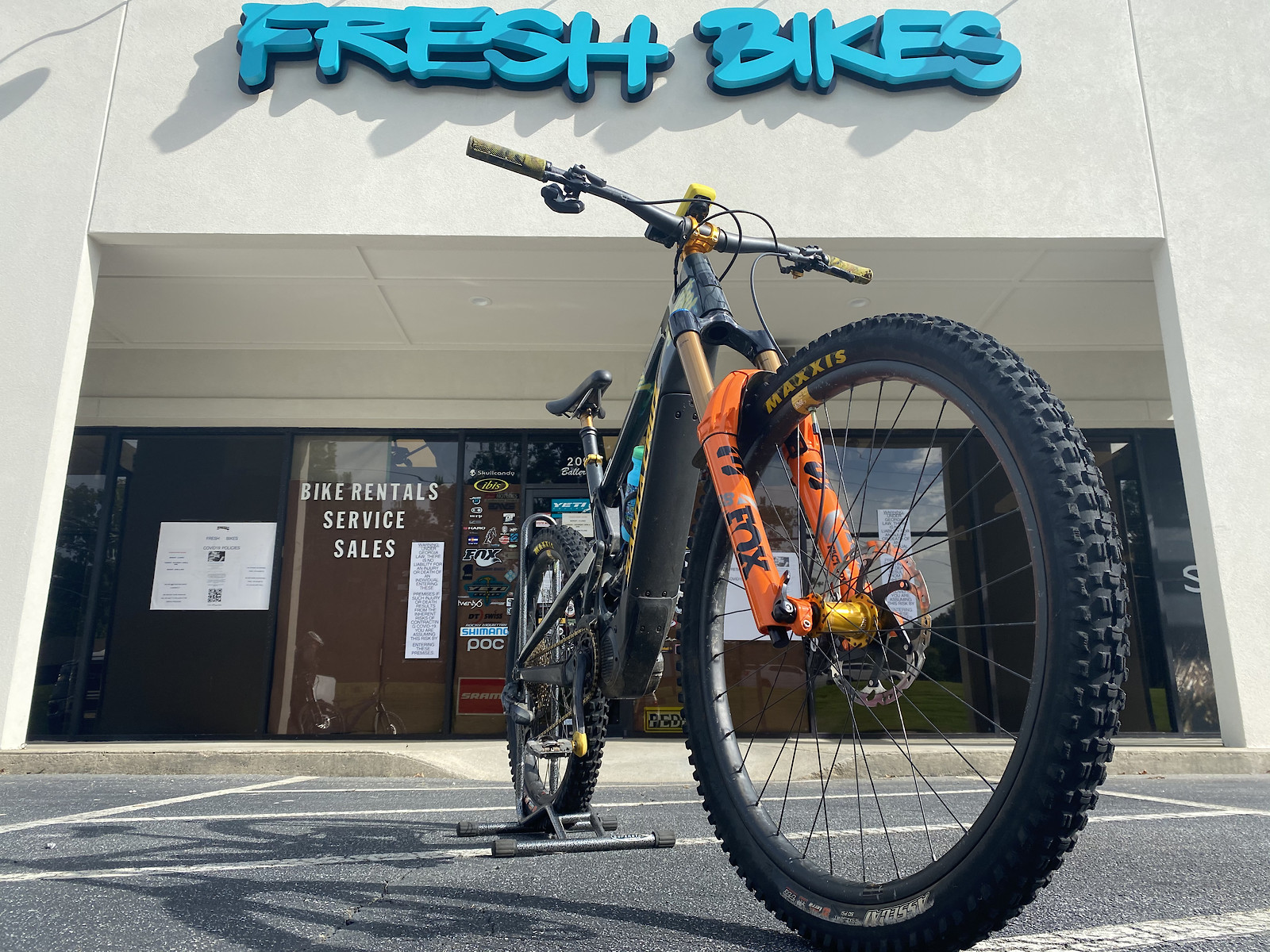 Mullet Heckler - Fresh Bikes Gravity