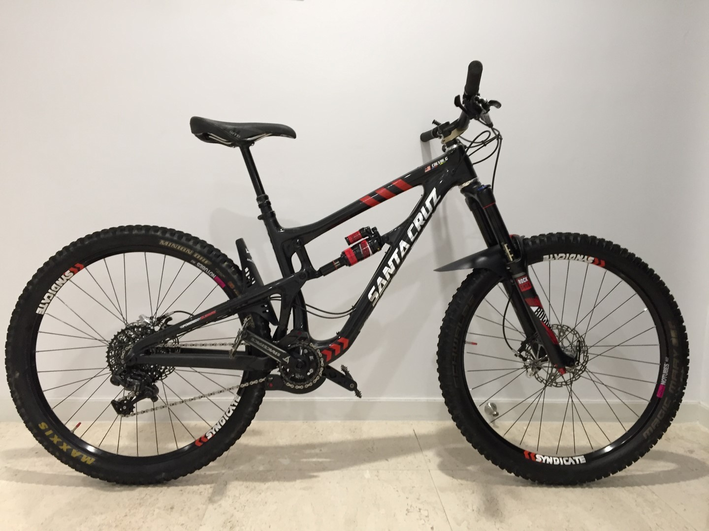 2016 Santa Cruz Syndicate Nomad