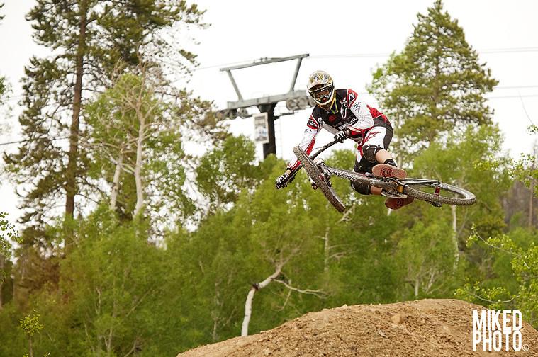 Greg Minnaar at the Triple DHip - Mike_Doucette - Mountain Biking Pictures - Vital MTB