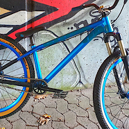 Canyon Stitched - The Blue Bike