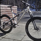 The Commencal silver arrow !
