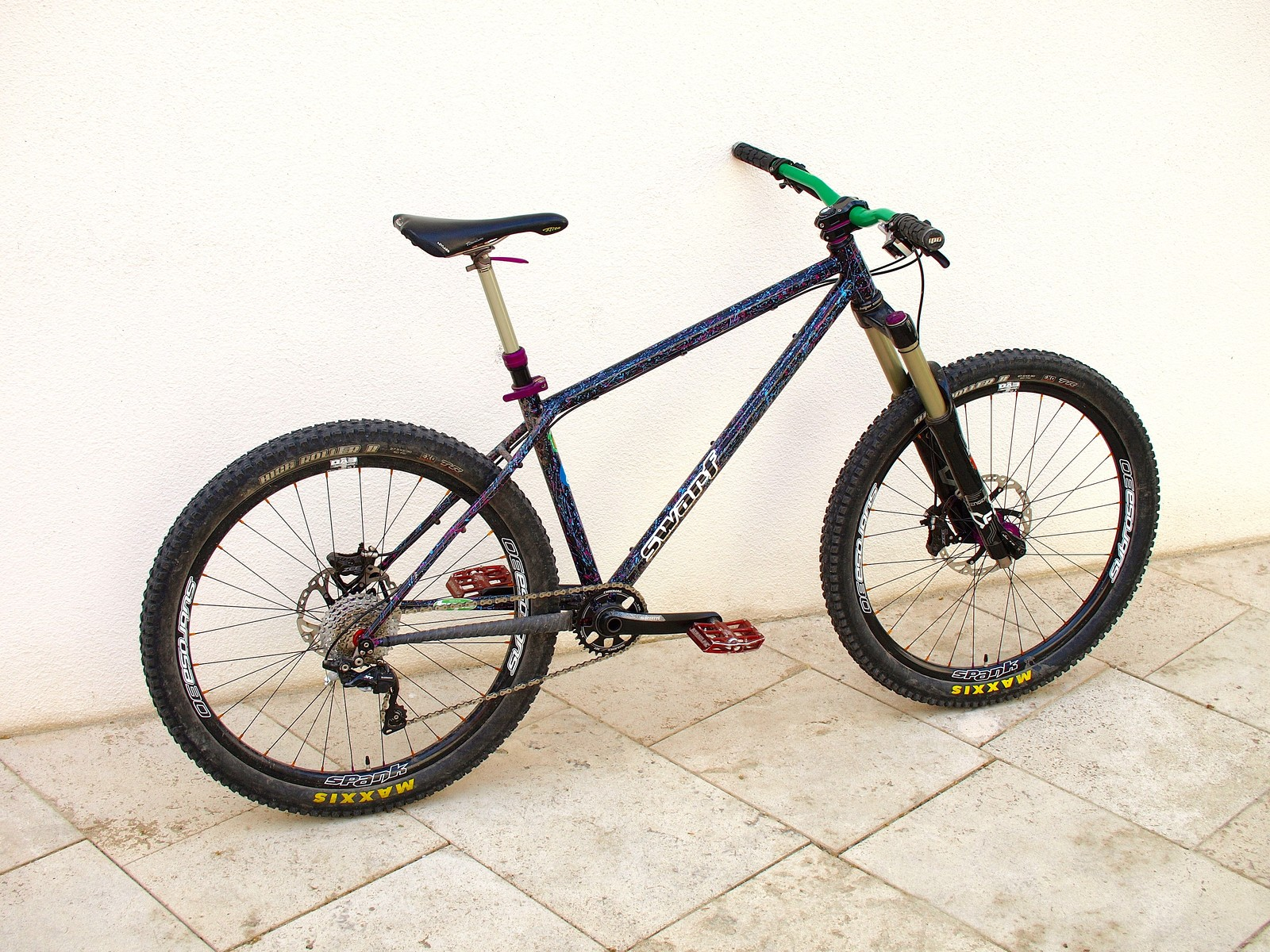 Swarf Cycles custom hardtail