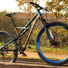 custom painted Specialized camber carbon 2015