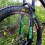 Green on Black Spitfire