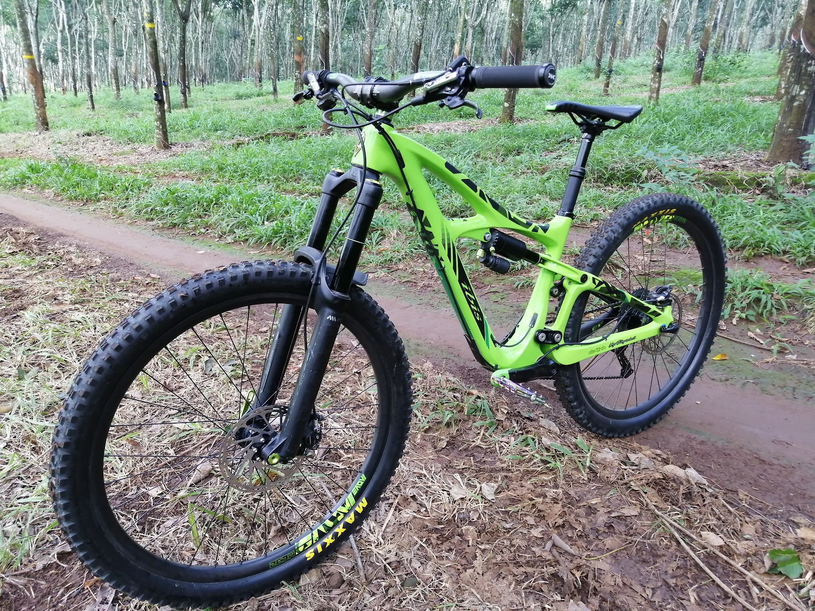 IBIS MOJO HD3 Boost ( The Green apple )