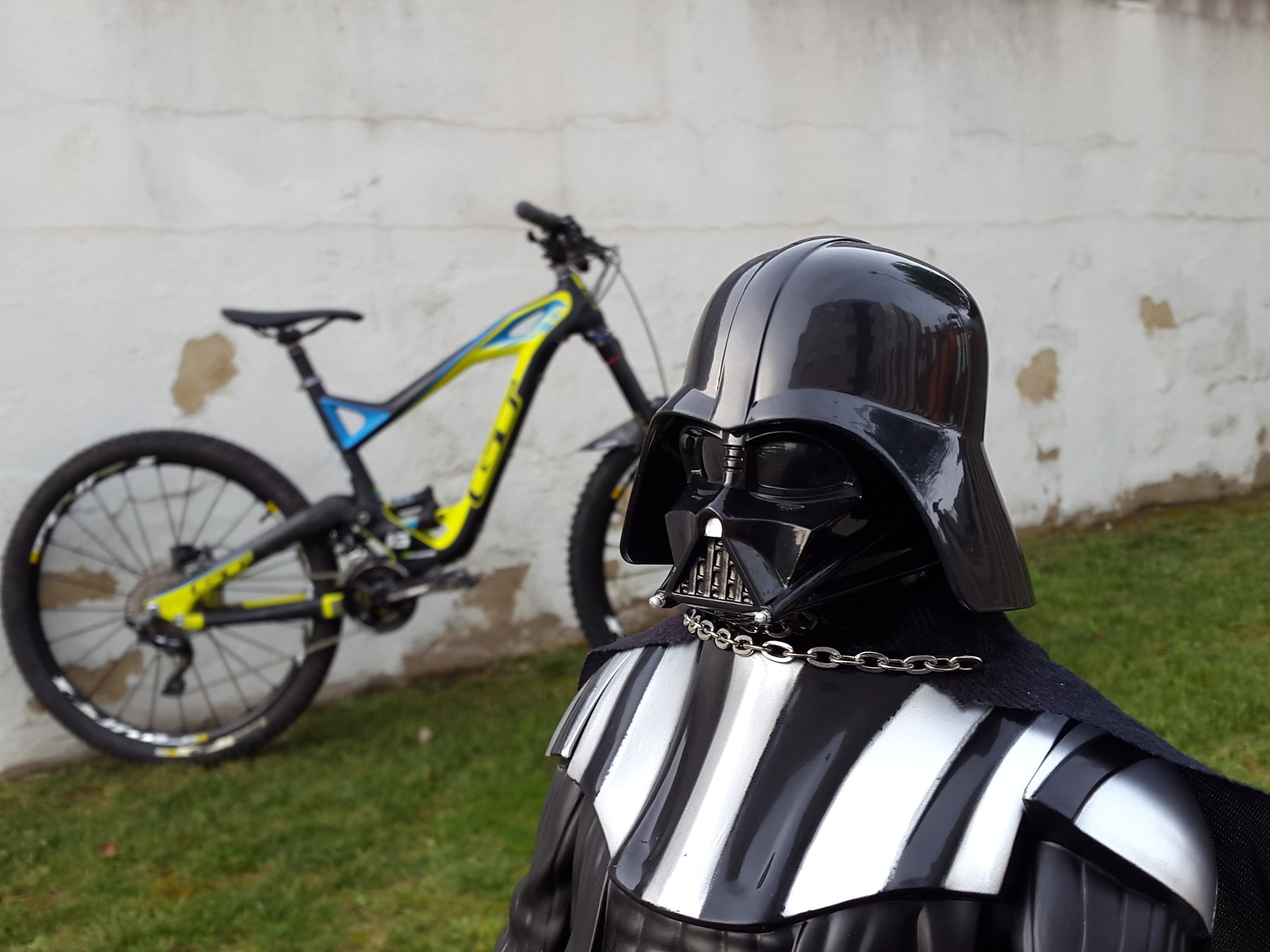 Welcome to the Dark Side of the Force!