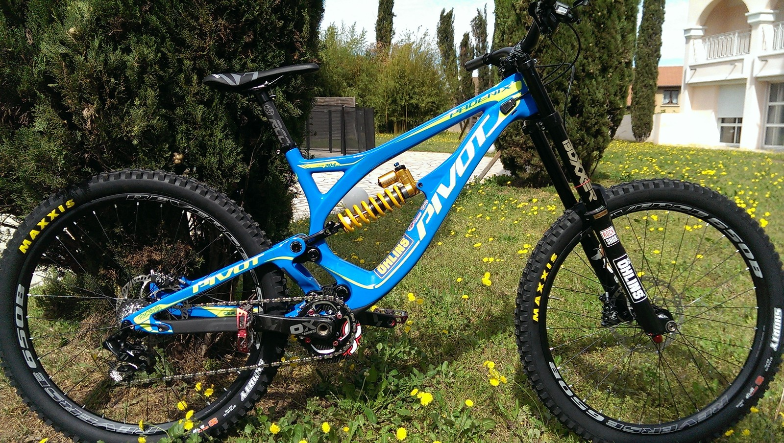 Pivot Phoenix Carbon full Öhlins X1 Racing