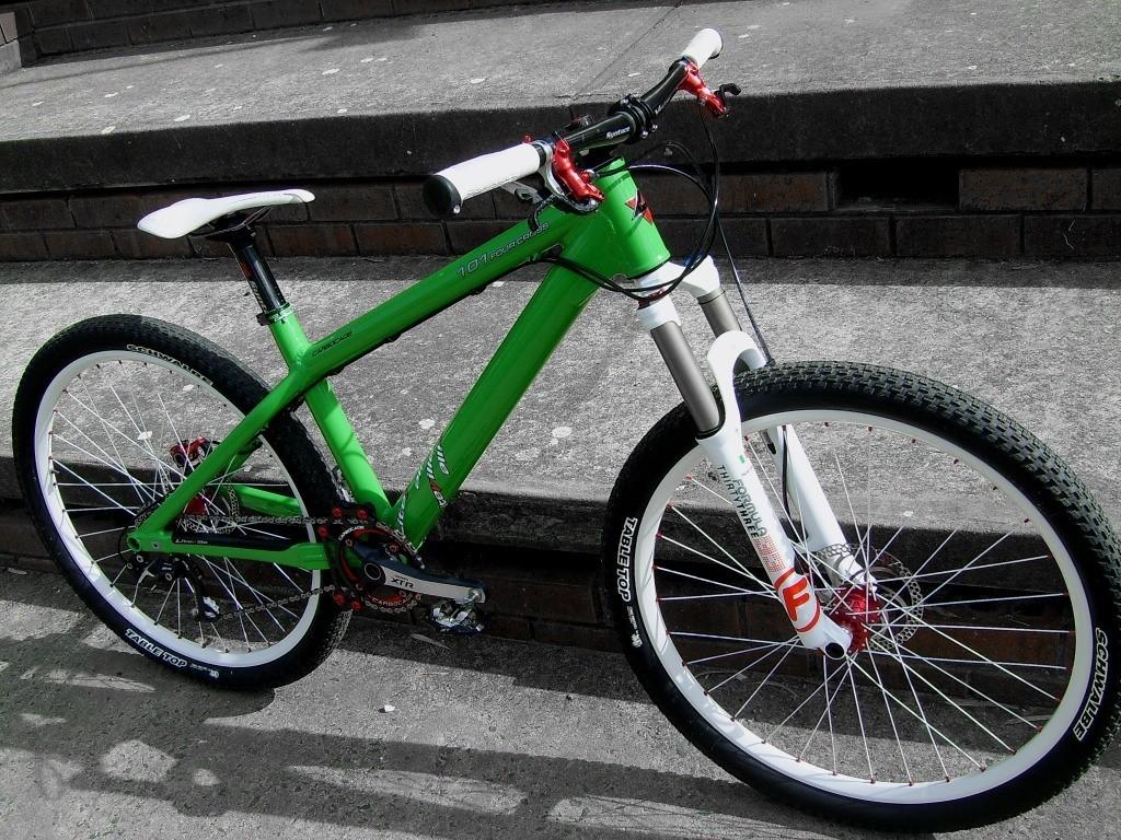 """Liteville 101 4X """"Green Machine"""" 9.98kg"""