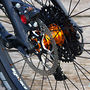 Tune Kong 208g rear hub, X01 10-42t cassette, formula's powerful CR3 brakes