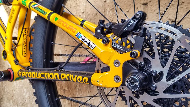 Velo Mountain Bike Locking Grips YELLOW