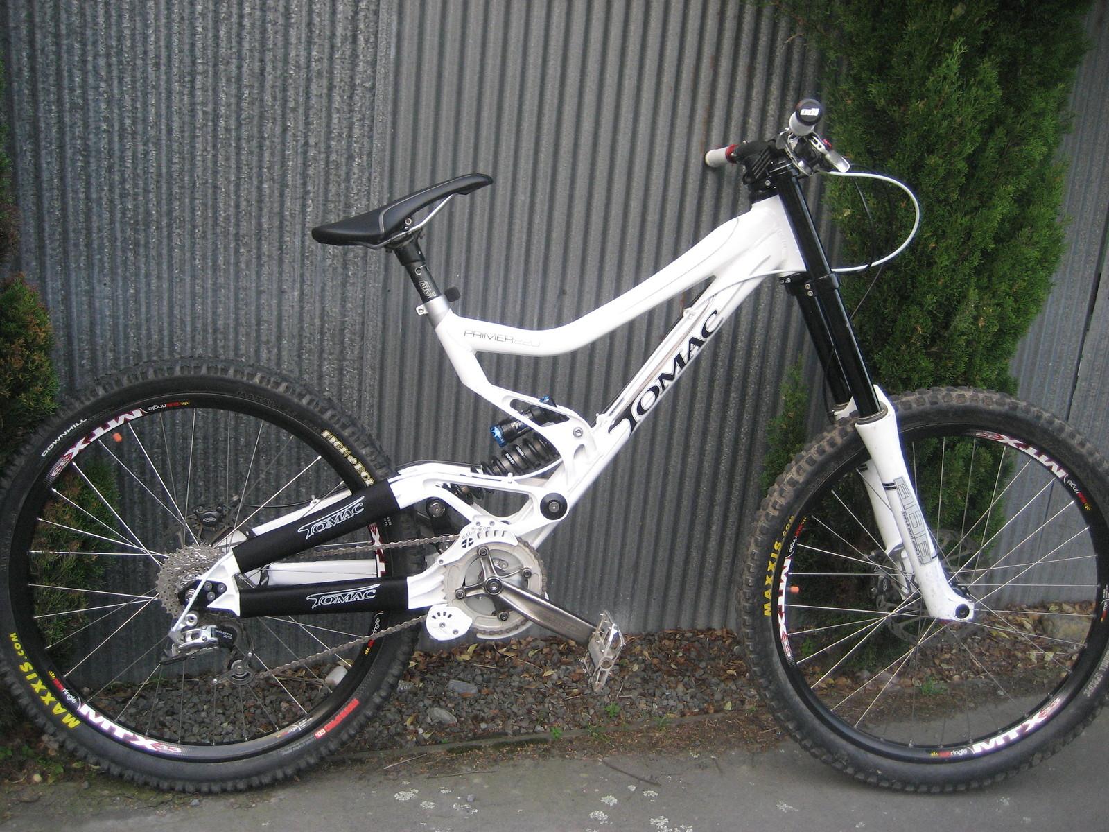 My new sponsor bike