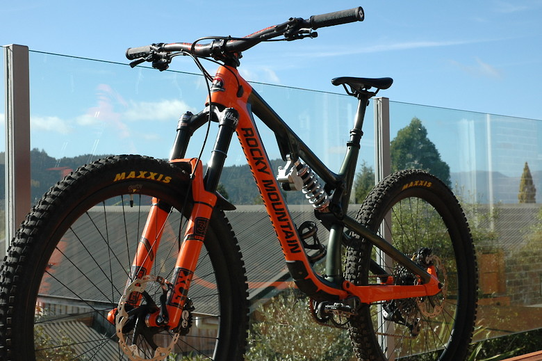 db6041a0fa6 Related: Bike of the Day Derby Rims FOX Maxxis PUSH Rocky Mountain Shimano  SRAM