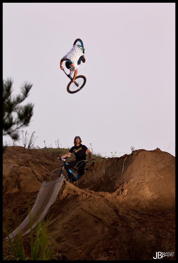 vital 1 dumped 360 at aptos high - cob - Mountain Biking Pictures - Vital MTB