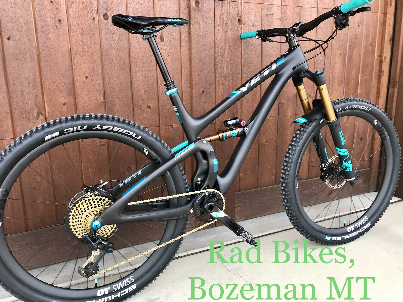 2018 Yeti SB5.5, Rad Bikes, Bozeman MT