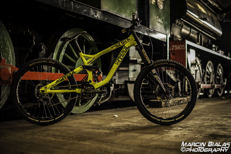 Commencal Supreme DH V3 2015 Yellow NEON latest Build - Photos by Marcin Bialas Photography
