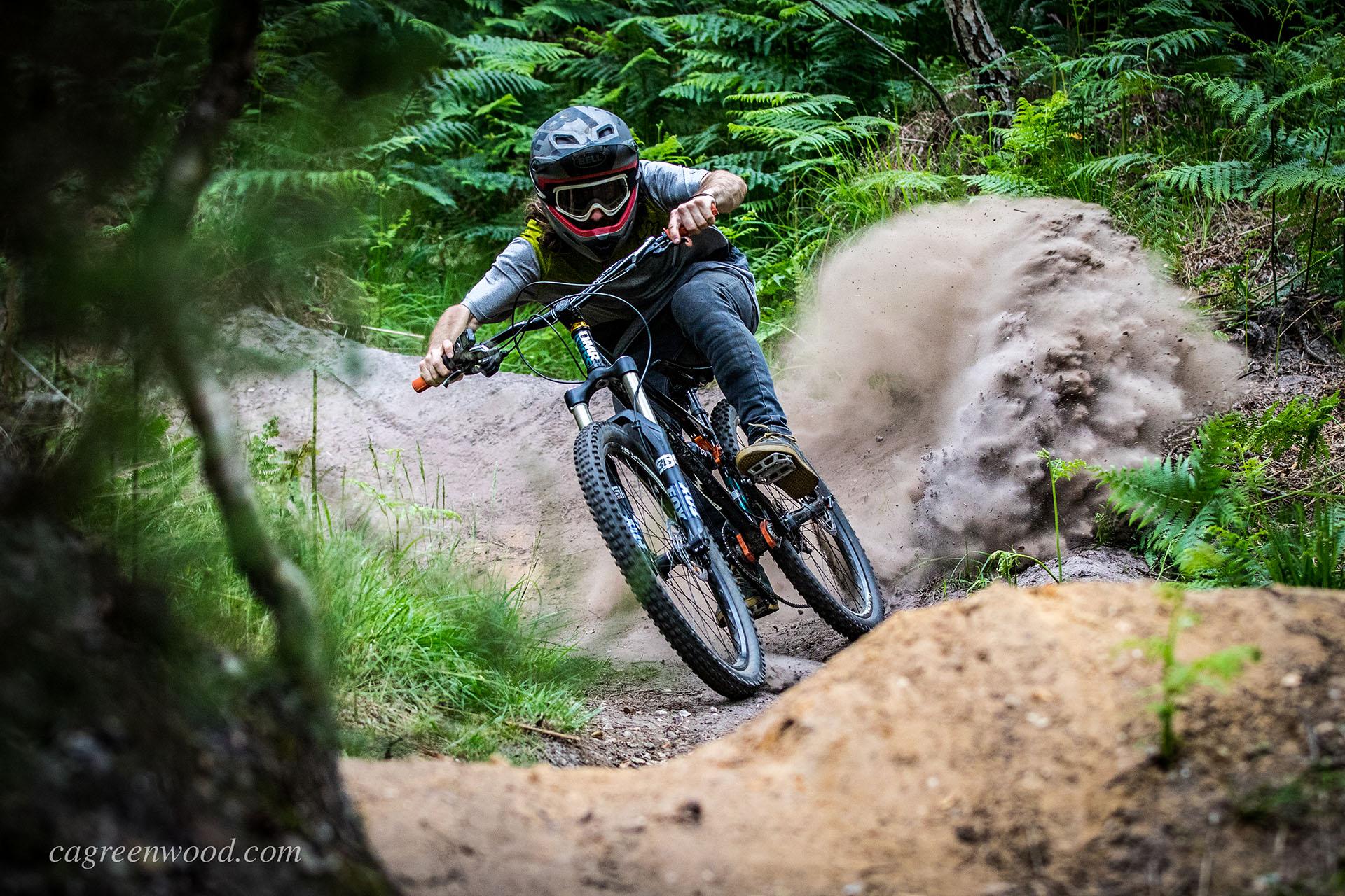 Drag Racing Helmets >> Self Portrait Dust Bomb - cagreenwood - Mountain Biking ...