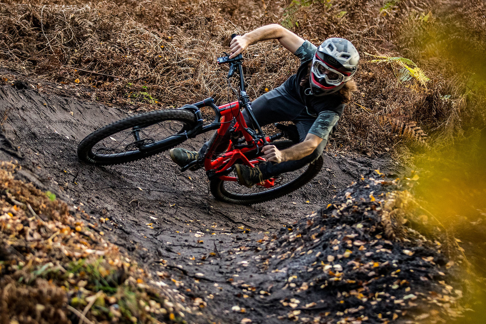 Death gripping corners - cagreenwood - Mountain Biking Pictures - Vital MTB