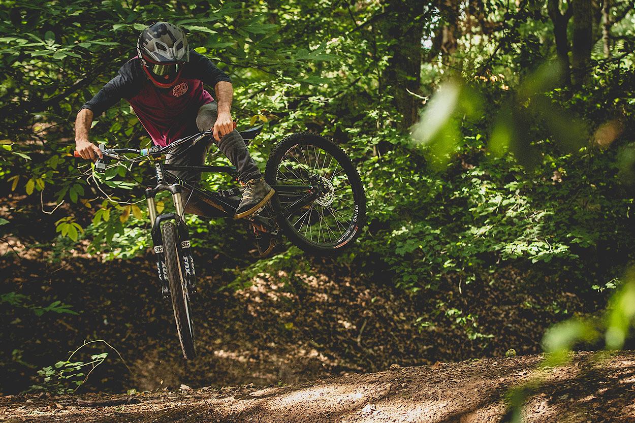 Kickout selfie - cagreenwood - Mountain Biking Pictures - Vital MTB