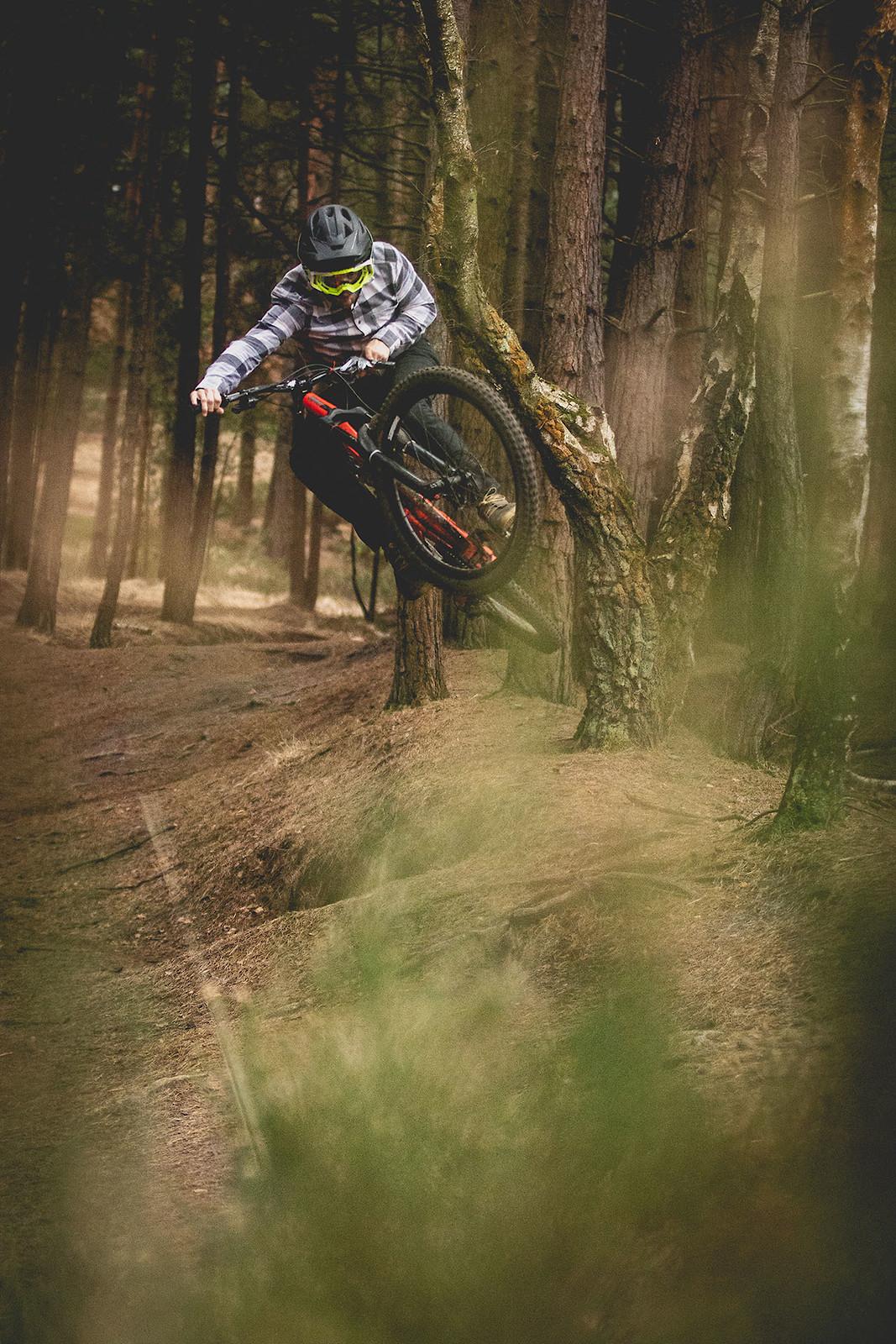 Turn-bar self portrait - cagreenwood - Mountain Biking Pictures - Vital MTB