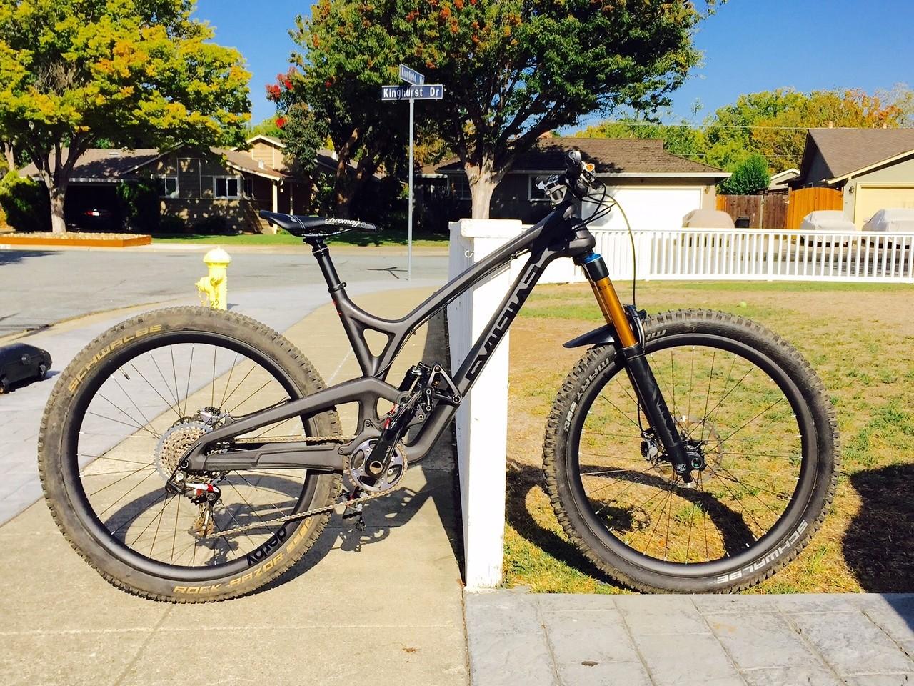 c8f1b7f8e6 New EVIL Insurgent - Evil13 s Bike Check - Vital MTB