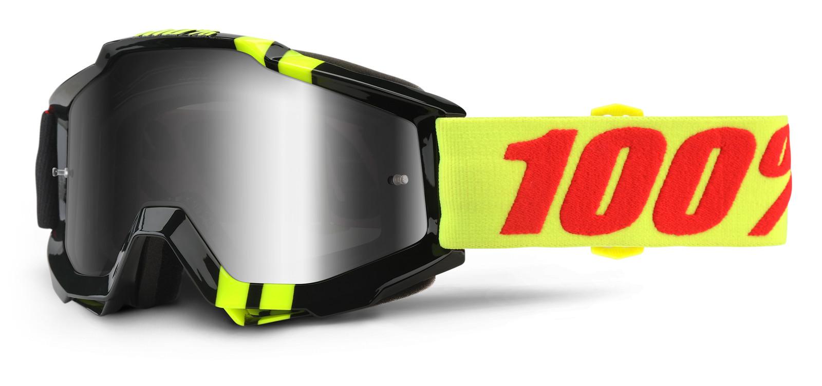 Accuri Zerbo Goggle - Mirror Silver Lens - 100percent - Mountain Biking Pictures - Vital MTB