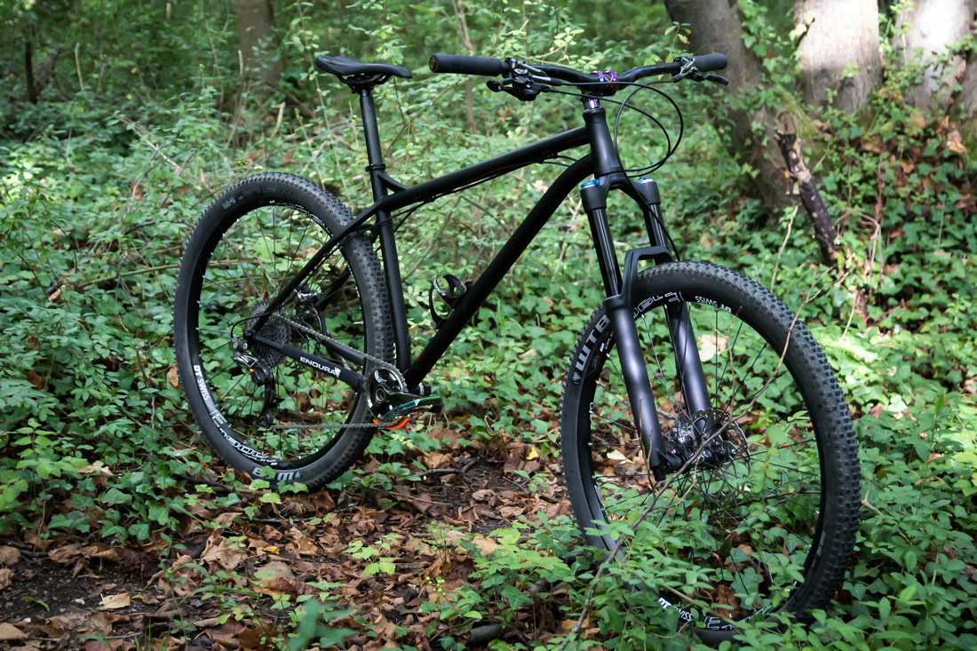 NSbikes Eccentic - custom butted 4130 cromoly, Tange Eccentric tubes