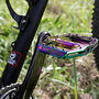 NSbikes  -  custom butted 4130 cromoly, Tange Eccentric tubes