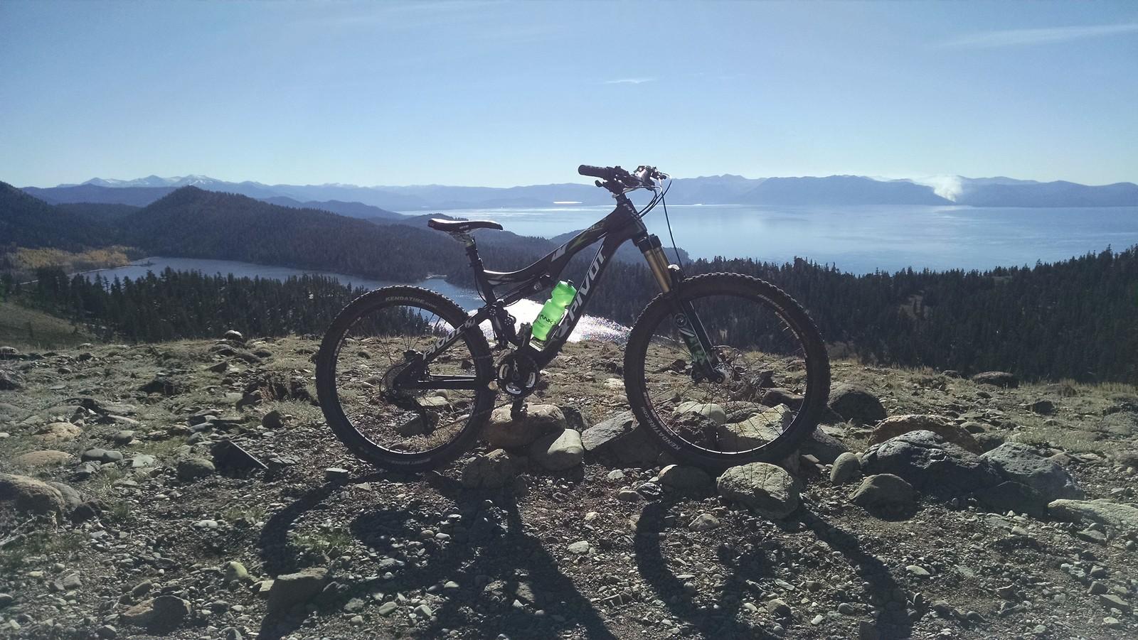 Lake Tahoe with Marlette Lake