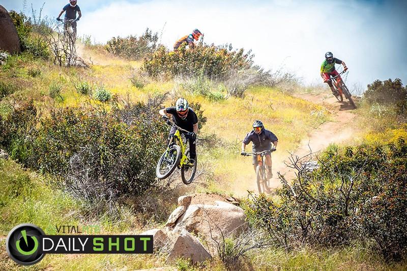 safe distancing riding - entronke - Mountain Biking Pictures - Vital MTB