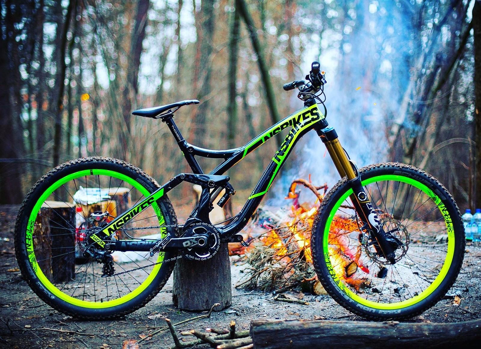NS Bikes Fuzz FR custom