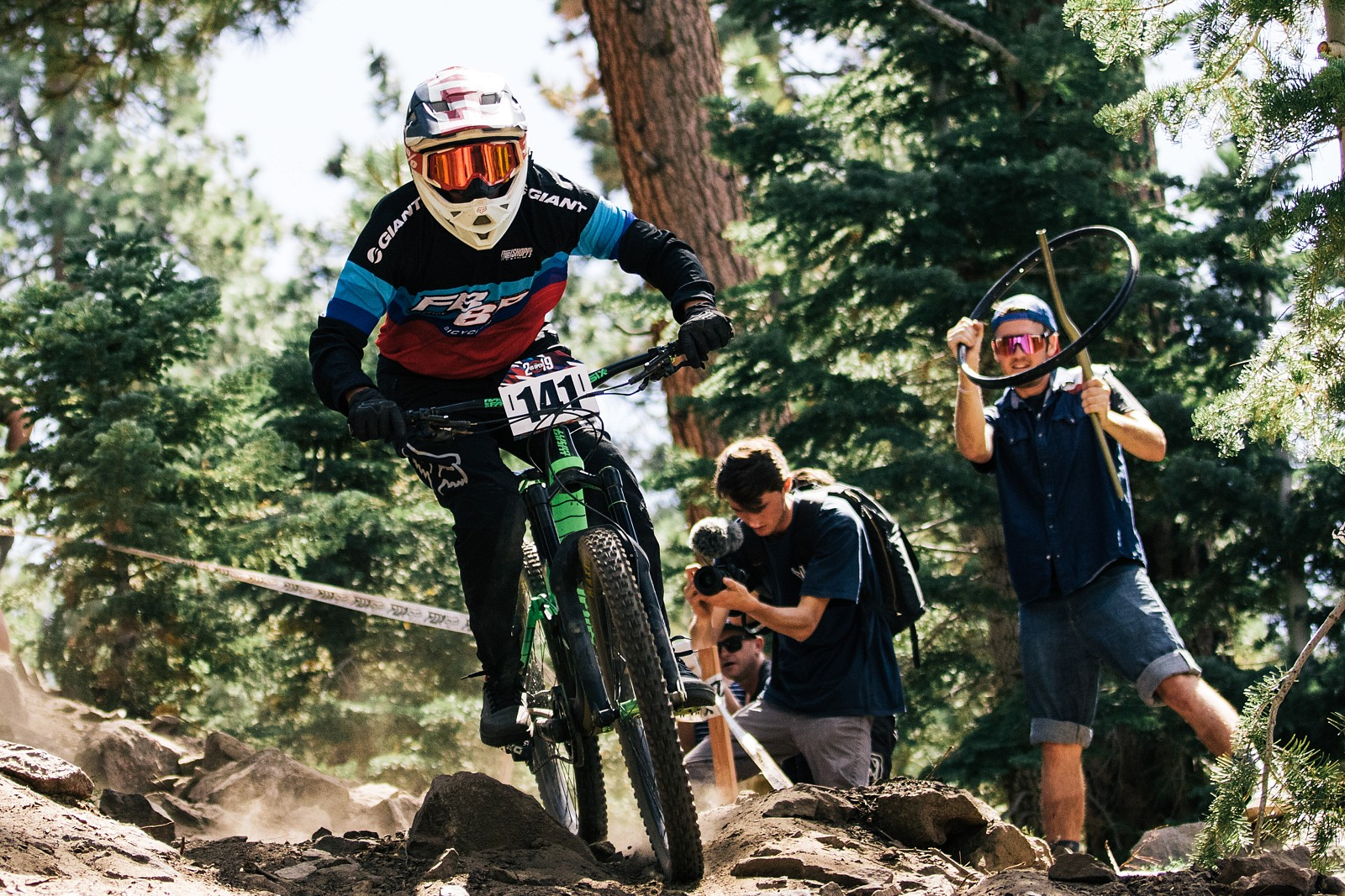 2019USOpenMTB DH yellow-6 - ALeedomPhotography - Mountain Biking Pictures - Vital MTB