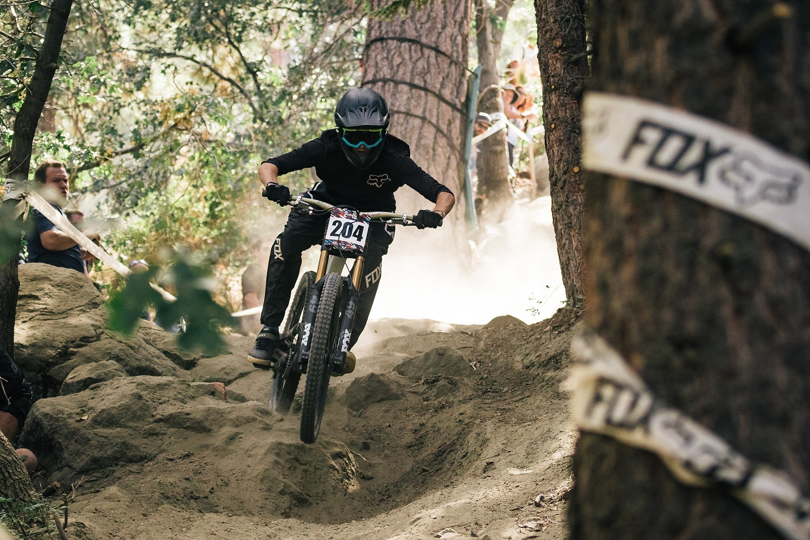 2019USOpenMTB DH yellow-22 - ALeedomPhotography - Mountain Biking Pictures - Vital MTB