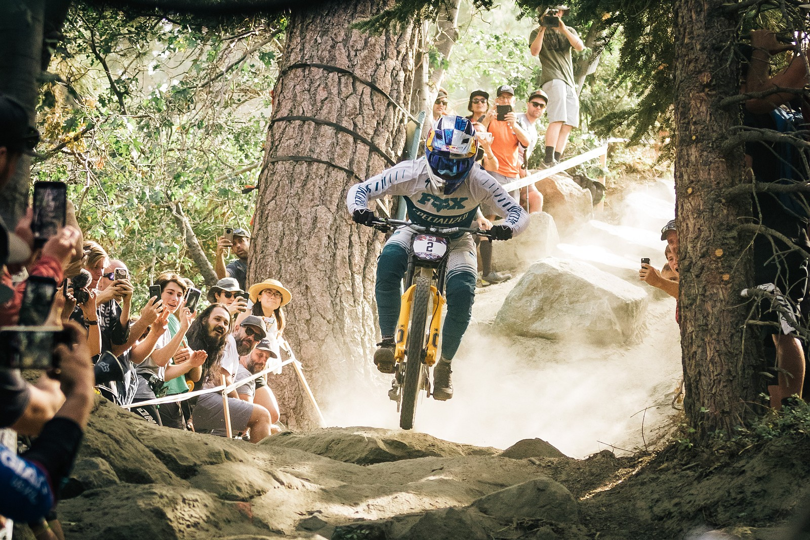 2019USOpenMTB DH yellow-32 - ALeedomPhotography - Mountain Biking Pictures - Vital MTB