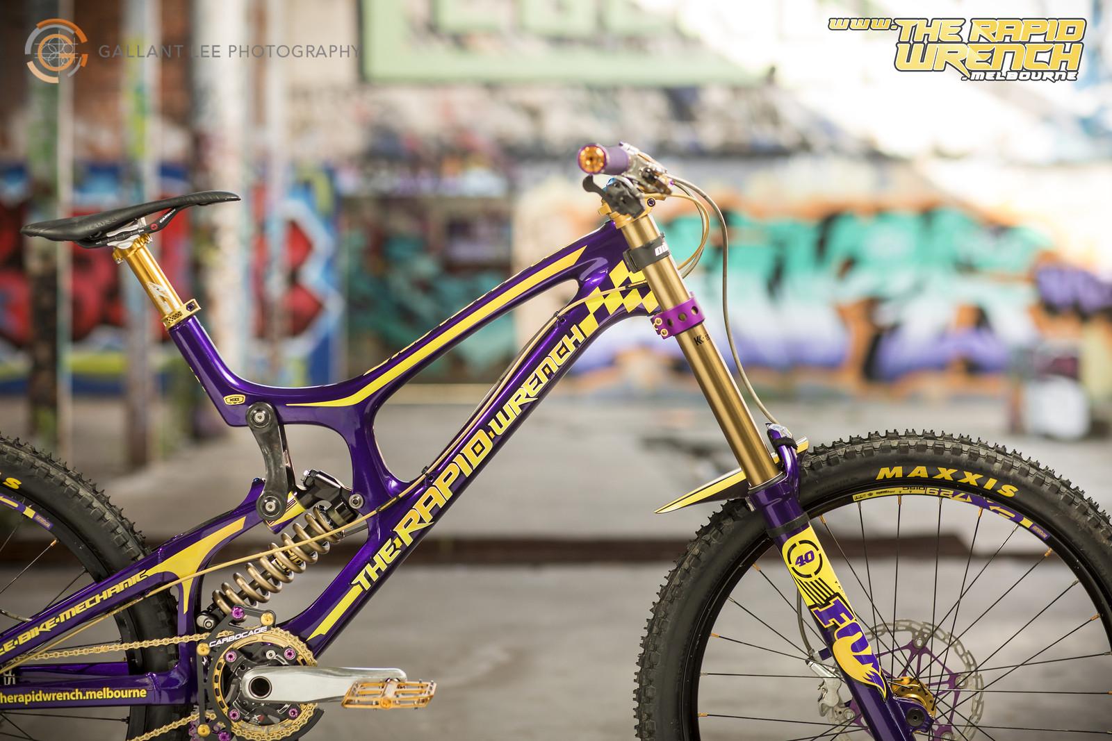 The Rapid Wrench- Santa Cruz V10C Promo Bike