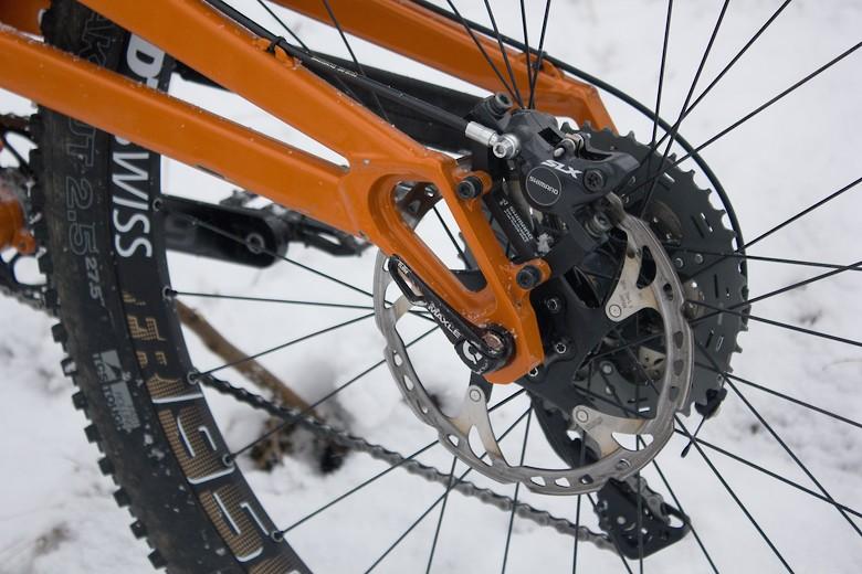 Orange Alpine 160