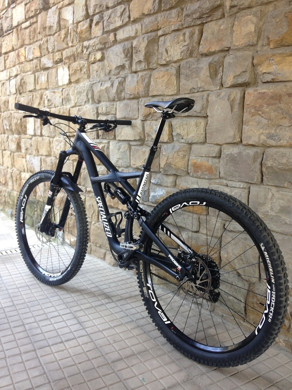 Specialized enduro comp 29 custom decals igloos bike check vital mtb