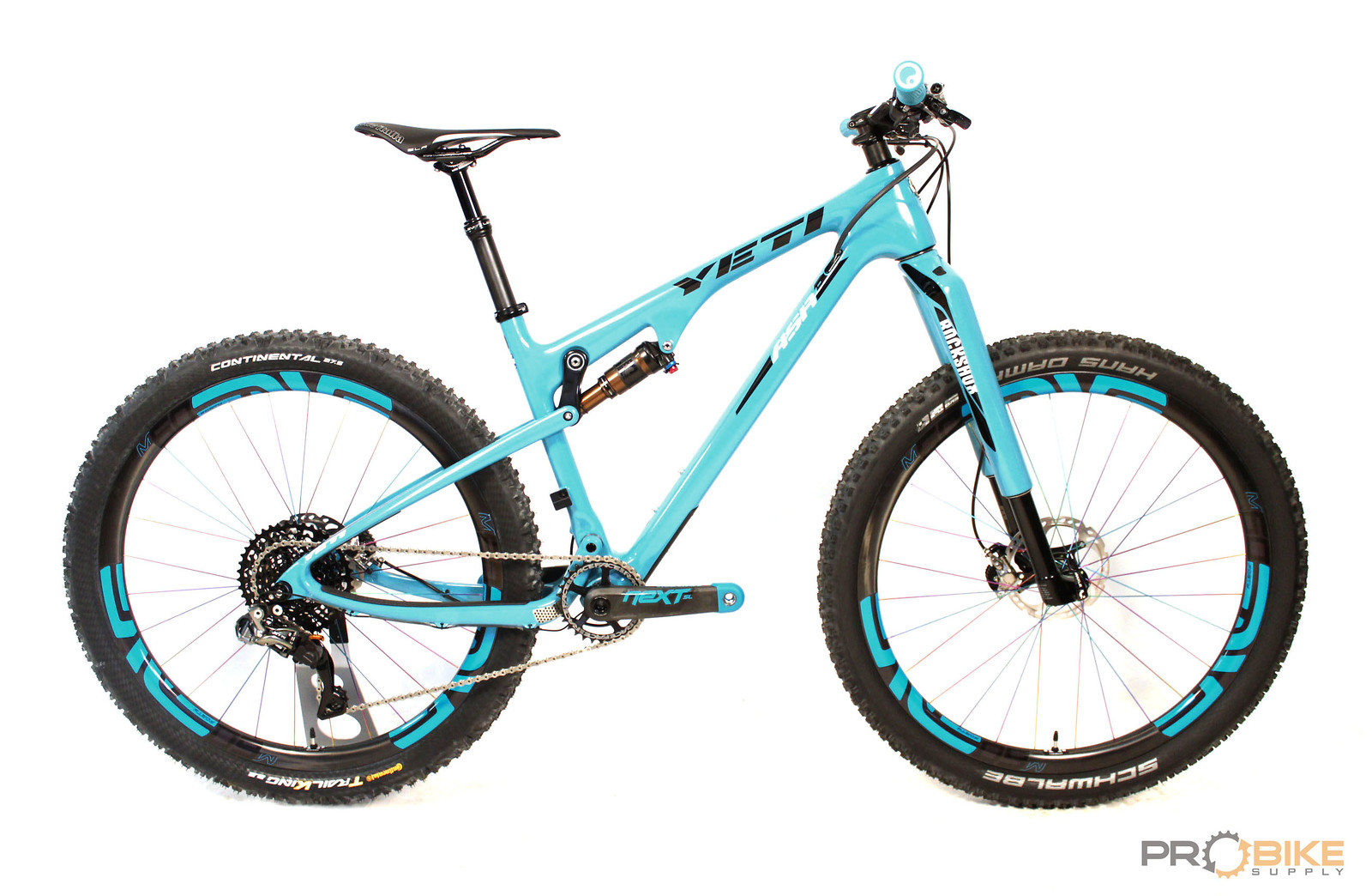 Yeti ASRc with custom painted turquoise RS-1