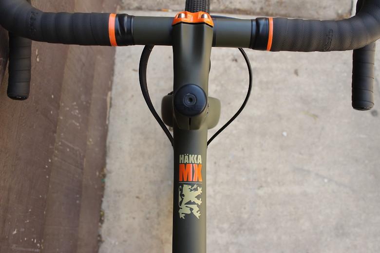 Custom Painted Ibis Hakka MX