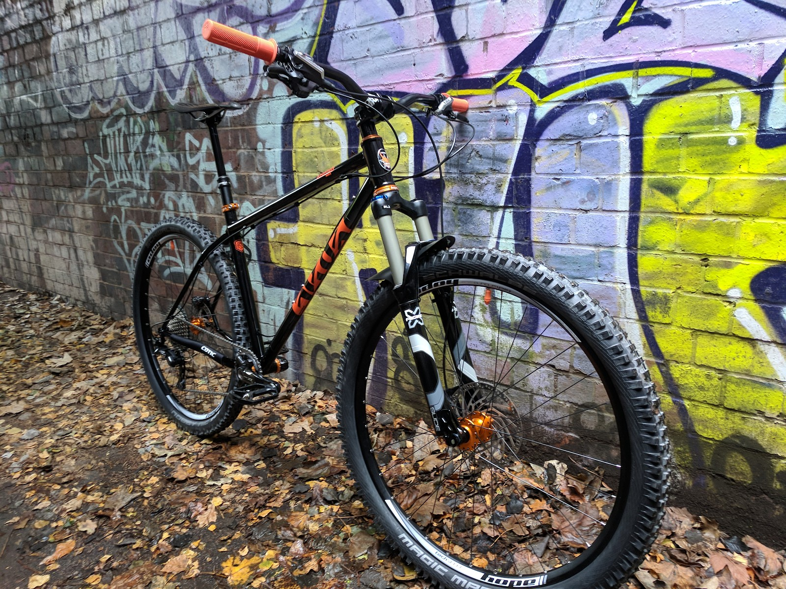 Cotic Solaris Max - my 20th anniversary hardtail