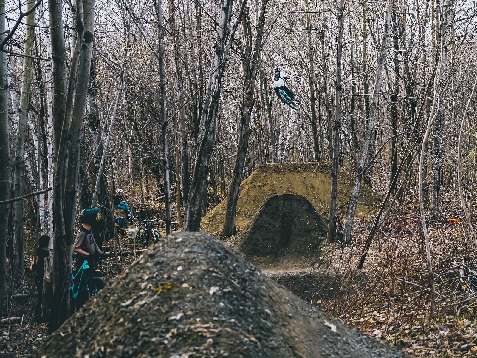 massive air - philippemarceau - Mountain Biking Pictures - Vital MTB