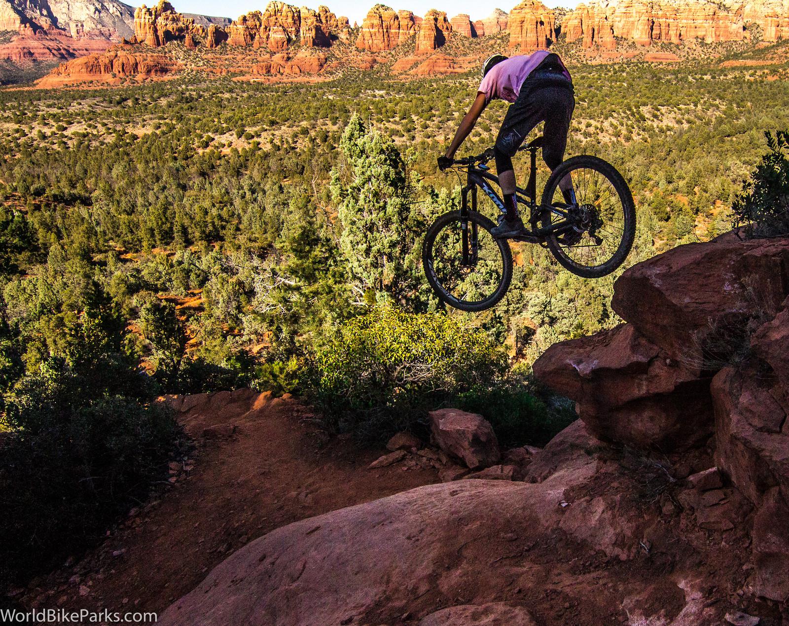 "Duncan Nason gets Higher on ""High On The Hog"" in Sedona - TreyClay - Mountain Biking Pictures - Vital MTB"