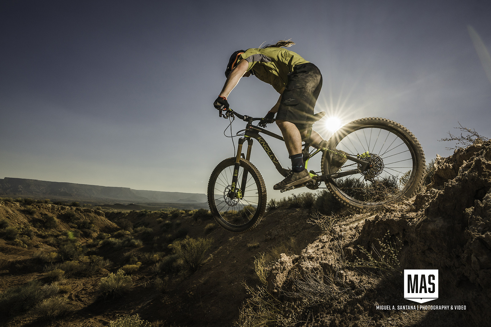 Jordan Rarick on Huck Fin - MASFOTOGRAPHIA - Mountain Biking Pictures - Vital MTB