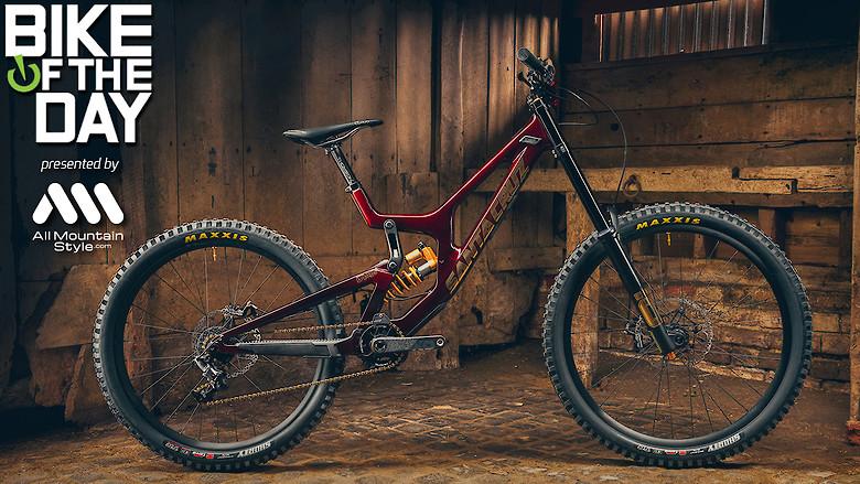 2021 Santa Cruz V10CC Ohlins Edition