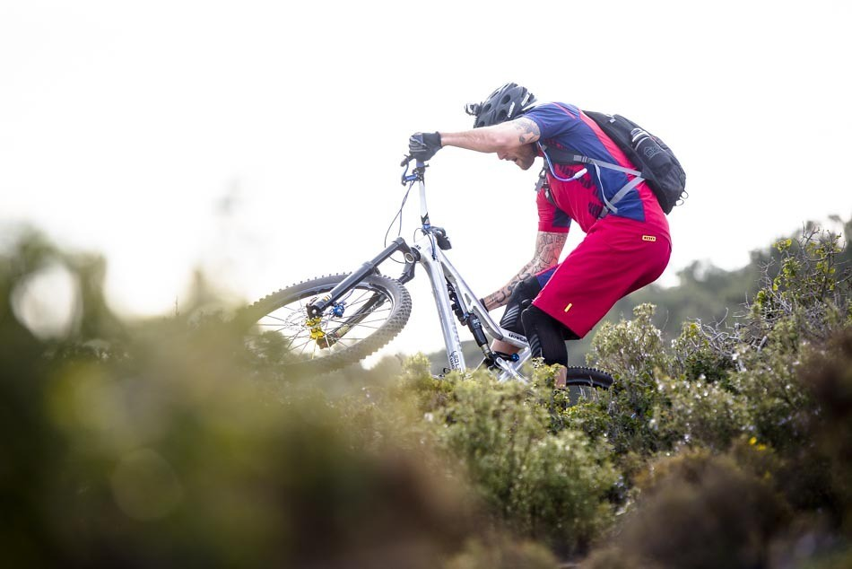 David Cachon My Soul is on Fire 1 - MakeYourOwnShortcut - Mountain Biking Pictures - Vital MTB