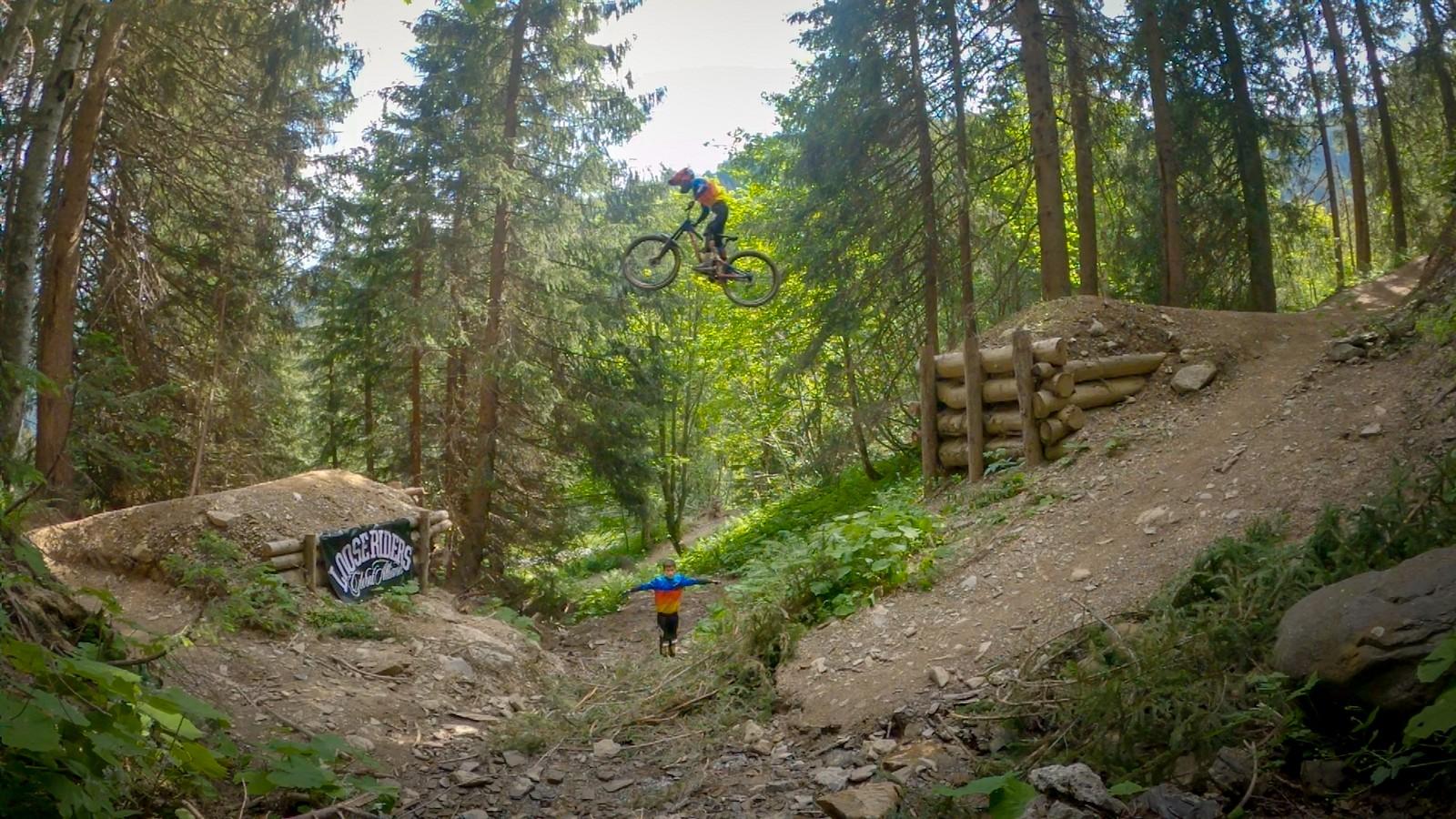 13 year old at Chatel Zougouloukata  - Milan_DH - Mountain Biking Pictures - Vital MTB